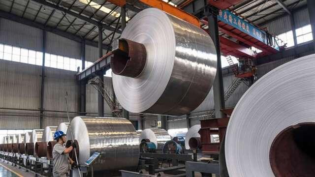 鋼市觸底反彈,中鴻Q3力拚單季轉盈。(示意圖:AFP)