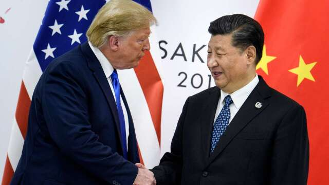 德銀:疫情後中國經濟改善良好 美國卻可能成為阻礙   (圖:AFP)