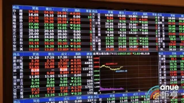 新興亞股前周吸金49億美元,其中,台股吸金14.7億美元,位居第二。(鉅亨網資料照)