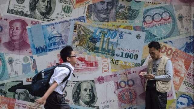 世銀預估今年全球GDP萎縮5.2%、明年反彈,新興經濟體GDP全面下降為60年來首見。(圖:AFP)
