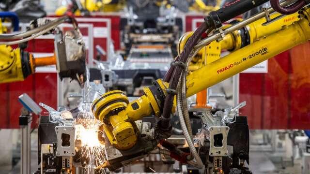 日本5月工具機訂單年減52.8% 連20個月負成長 (圖片:AFP)