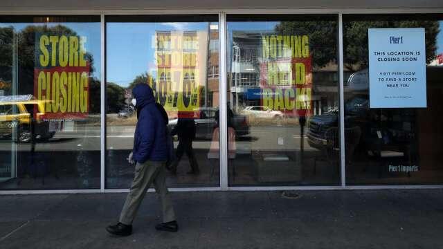 疫情衝擊 美國今年恐2.5萬間零售店永久關閉   (圖片:AFP)