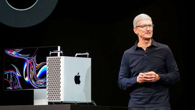華爾街:市場低估蘋果自研晶片野心(圖片:AFP)