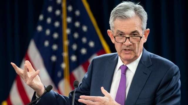 Fed維持利率在近零水準 到至少2022年 (圖:AFP)