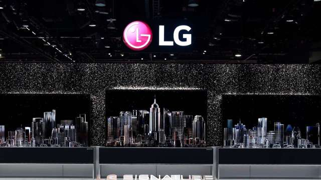LG Display致力研發「可伸縮式顯示器」 預期2024年推出(圖片:AFP)