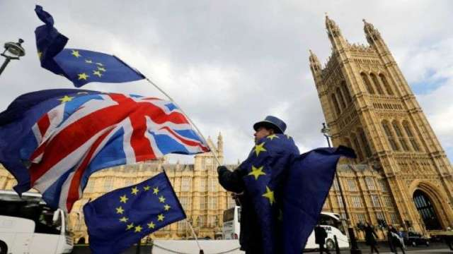 大摩:硬脫歐+第二波疫情疑慮 英國負利率風險仍在 (圖:AFP)