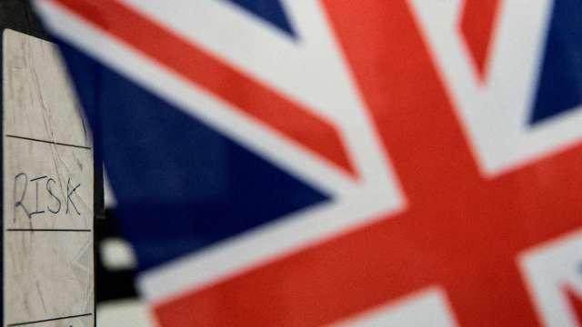 英國4月份GDP暴跌逾20% 創史上最大月減幅度  (圖片:AFP)