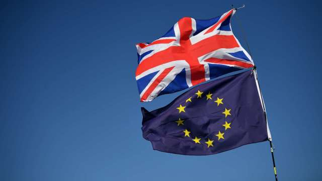 英國、歐盟同意加速脫歐貿易談判 7月起密集展開 (圖:AFP)
