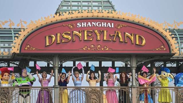 上海迪士尼樂園(圖片:AFP)