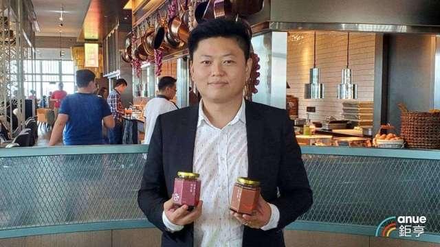 連鎖餐飲集團饗賓總經理陳毅航。(鉅亨網記者王莞甯攝)