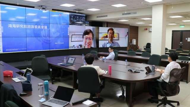 鴻海研究所今日正式成立,旗下五大研究所鎖定未來前瞻技術。(圖:鴻海提供)