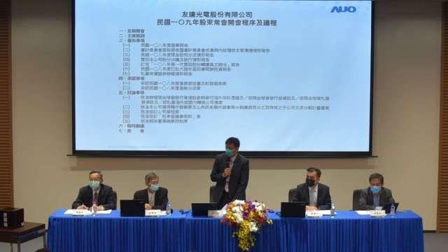 友達擴充台灣高階產能,6月完成2條新產線建置。(圖:友達提供)