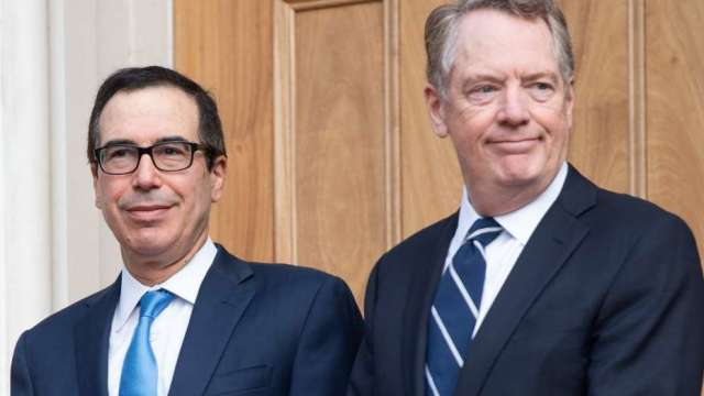 萊特海澤將向國會報告 談重設美國在WTO的關稅承諾(圖:AFP)