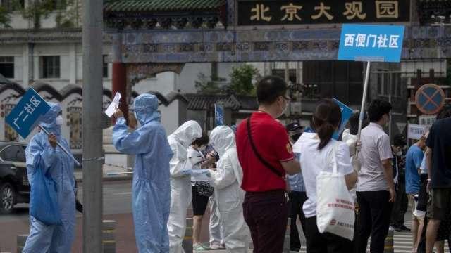 北京疾控中心:北京市疫情處上升期 不排除持續一定時間(圖:AFP)