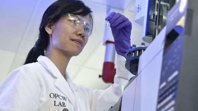 中研院新冠抗原檢測產品技轉名單出爐。(圖:AFP)