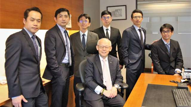 永豐投顧ESG團隊,圖中為永豐投顧董事長黃蔭基。(圖:永豐金證券提供)