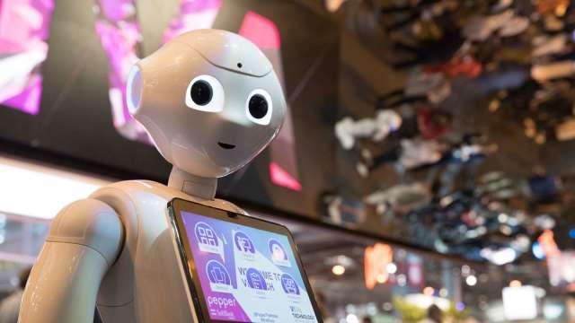 高通推新機器人平台 凌華強攻自主移動機器人。(圖:AFP)