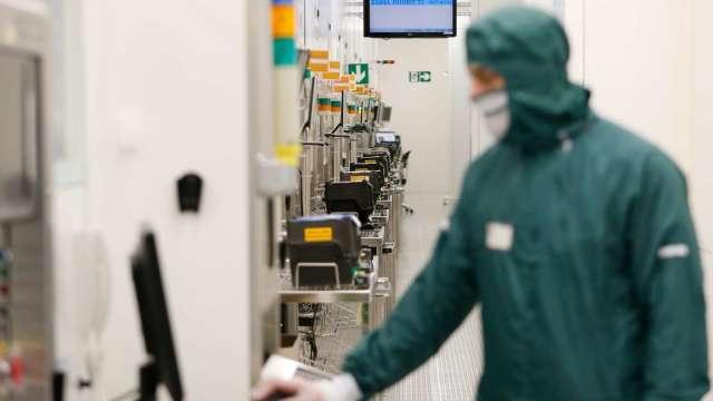北美5月半導體設備銷售年增13.1% 連八月維持正成長。(圖:AFP)