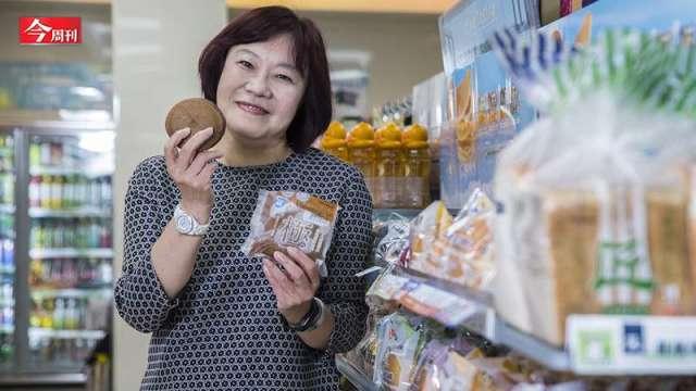 為何全家這款鬆餅能年銷800萬袋?揭密從咖啡熱潮到麵包狂銷的經營心法。(圖:今周刊提供)