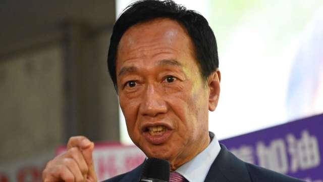 鴻海創辦人郭台銘。(圖:AFP)