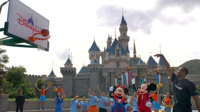 NBA賽事回歸 有望推高迪士尼廣告收入(圖片:AFP)