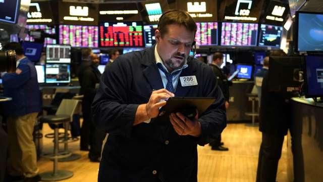 美國Q1經常帳逆差跌至兩年新低(圖片:AFP)
