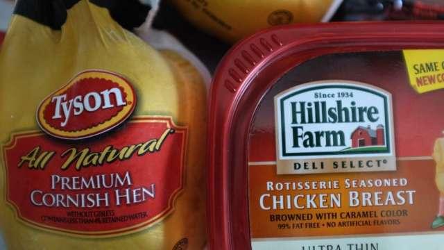擔憂疫情 中國暫停由泰森一家工廠進口禽肉(圖:AFP)