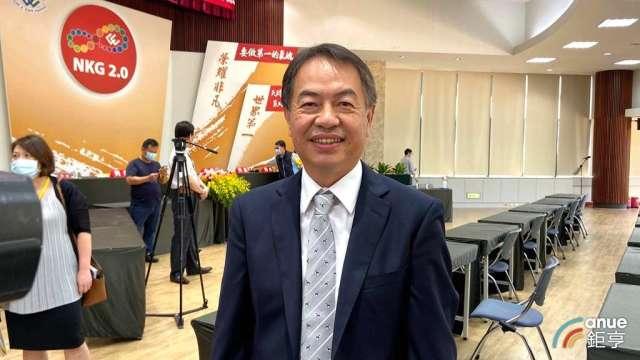 金寶總經理陳威昌。(鉅亨網記者劉韋廷攝)