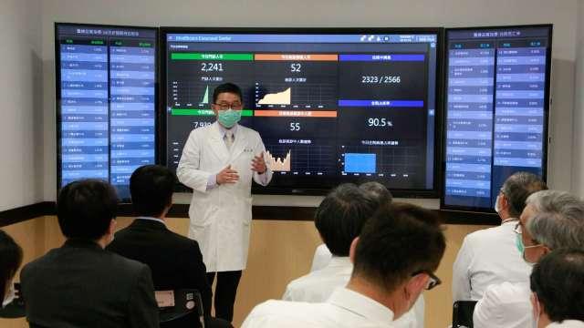 研華攜手臺北榮總打造智慧醫院管理中心。(圖:研華提供)