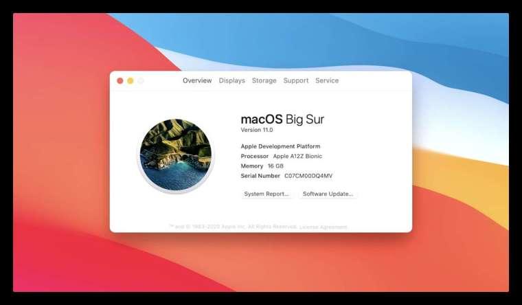 macOS Big Sur 提供全新的 UI 介面設計。 (圖片:蘋果)