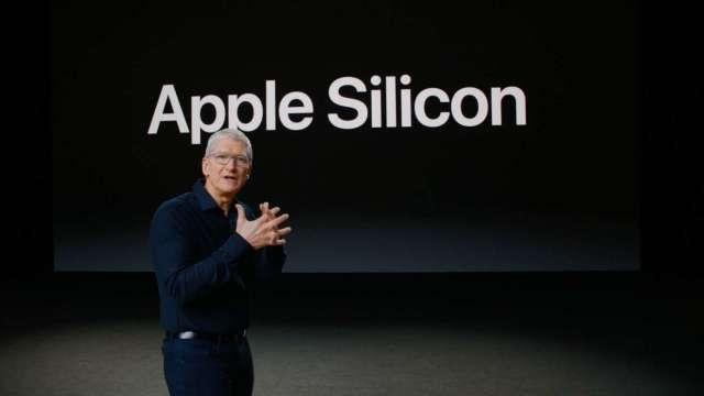 蘋果 CEO 庫克表示,週一是「Mac 歷史性的一天」。(圖片:蘋果)