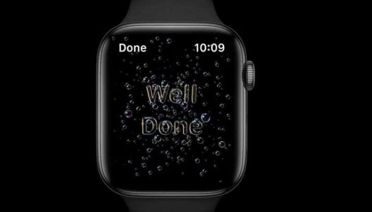 蘋果 watchOS 7 推出洗手偵測 (圖片: AppleInsider)