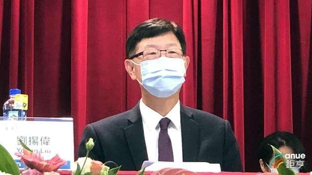 鴻海董事長劉揚偉。(鉅亨網記者彭昱文攝)