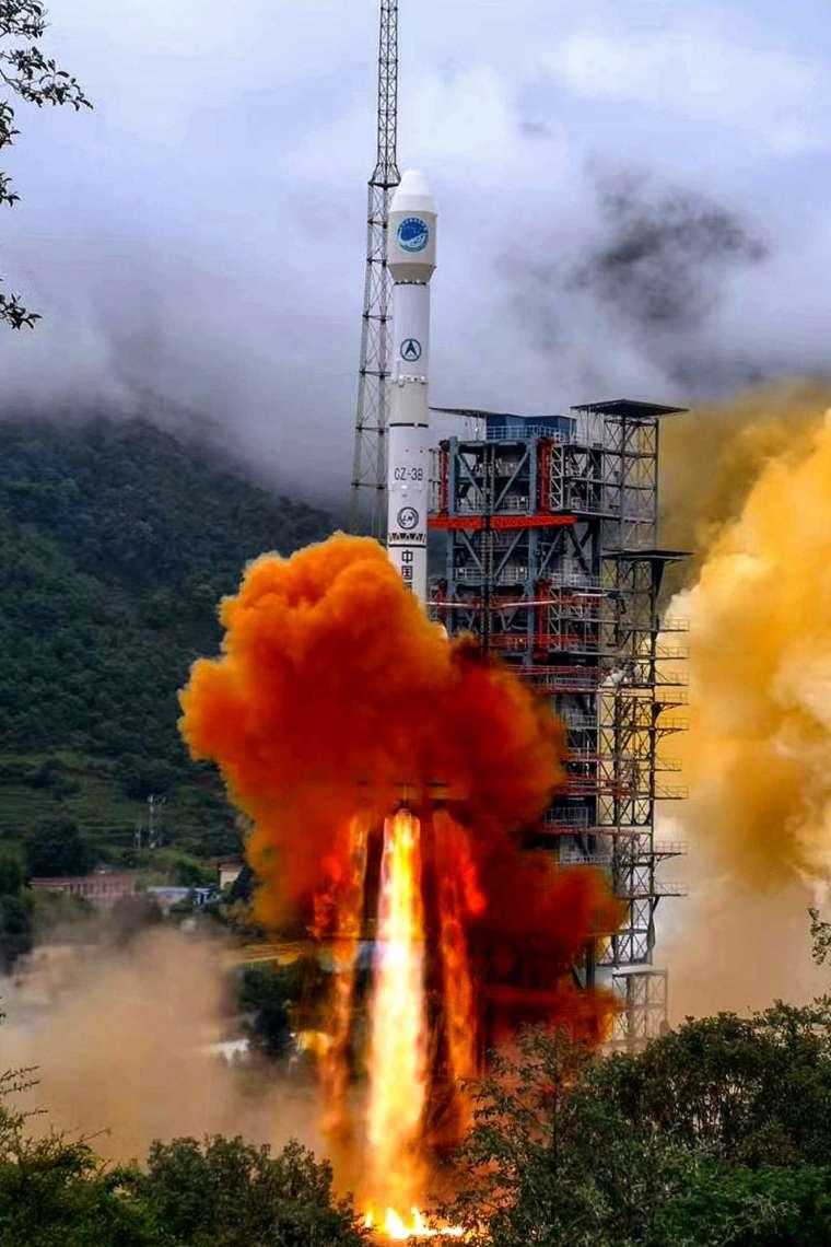 中國北斗衛星導航系統完成布局 (圖片:AFP)