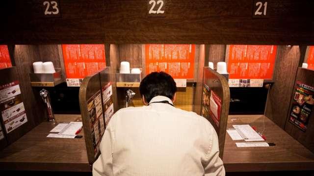 拉麵店模仿「一蘭」的理由  (圖片:AFP)