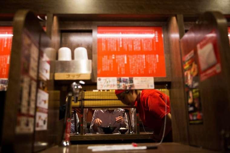 拉麵店模仿「一蘭」的理由(圖片:AFP)