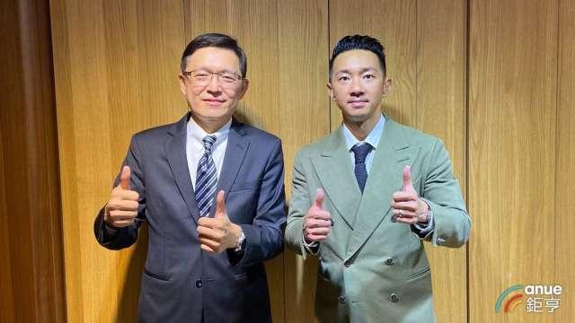 東典董事長陳正德(右)、副董事長蘇立群(左)。(鉅亨網資料照)
