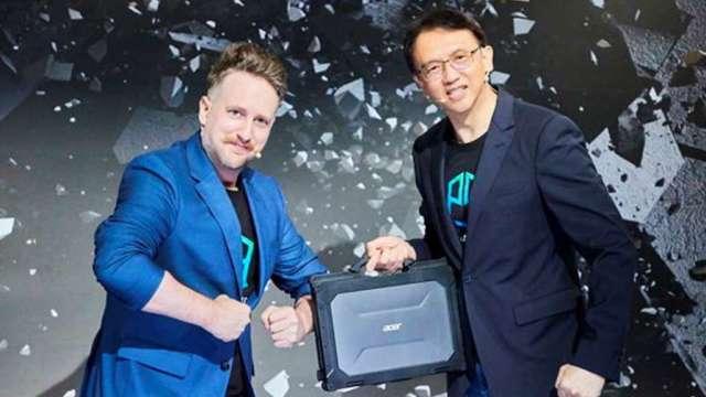 宏碁推出第三個筆電子品牌Enduro,瞄準強固型電腦市場。(圖:宏碁提供)