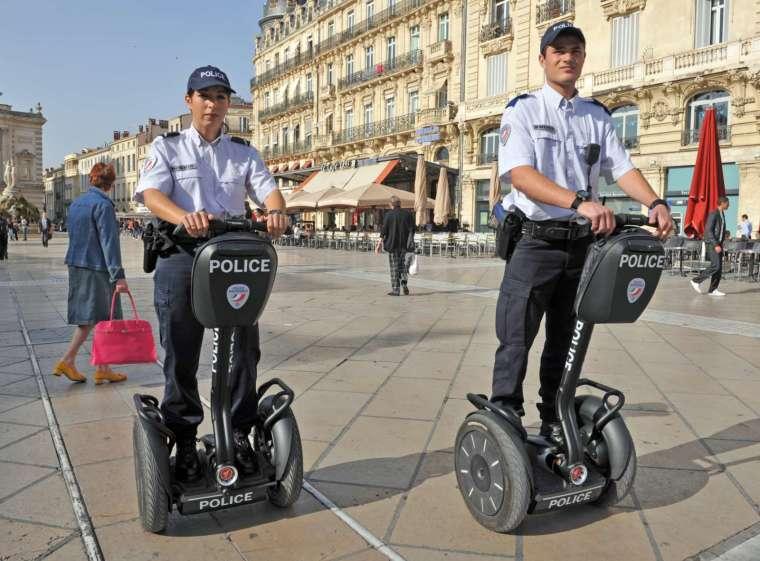 Segway 電動平衡車即將停產 (圖片:AFP)