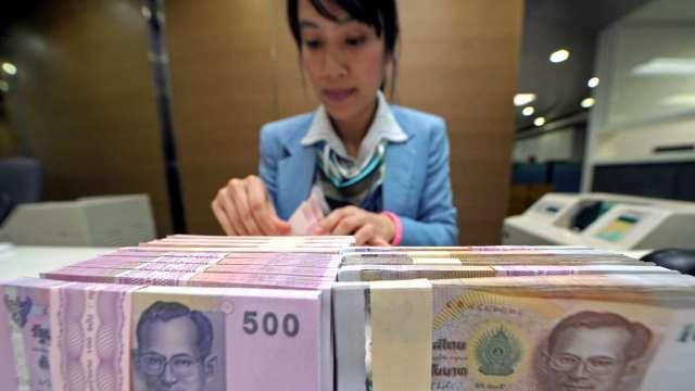 泰國央行維持利率史上低點不變 泰銖走強(圖:AFP)