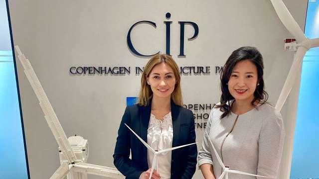 左起為MVOW台灣業務總監 Maida Zahirovic、CIP 開發長許乃文。(圖:CIP提供)