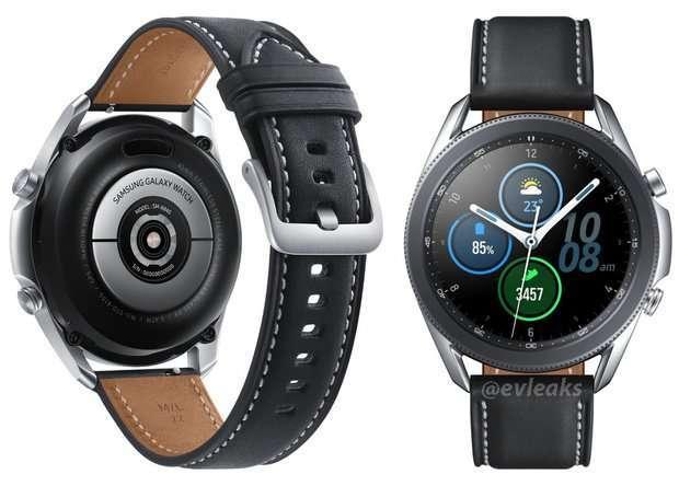 Galaxy Watch 3 的渲染圖曝光 (圖片:gizmochina)