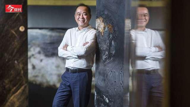 承豪石材執行長陳博崑鎖定高端客,把石材當成藝術品在賣。(圖:今周刊提供)