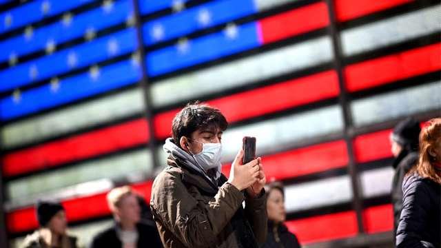 美單日新增病例刷新紀錄!德州、佛州重啟計畫被迫喊卡(圖片:AFP)