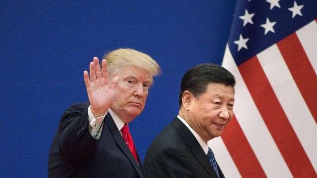 中國警告美國:超過紅線可能危及美中第一階段協議。(圖片:AFP)