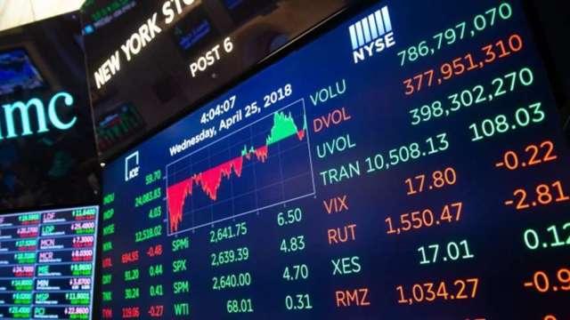 美股M頭暗示熊市來臨?華爾街正緊盯10年期美債殖利率 (圖:AFP)