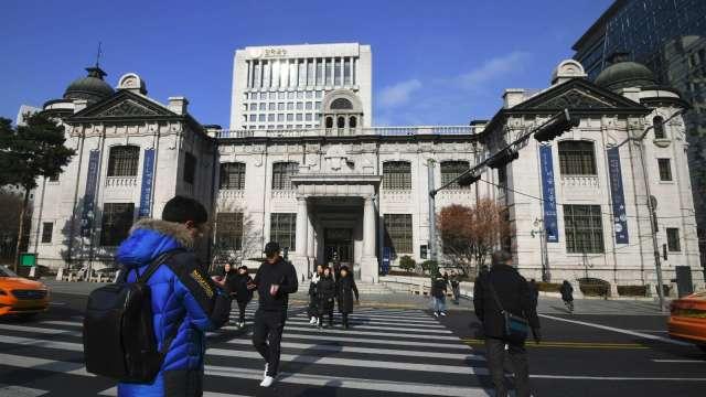 南韓央行:疫情後南韓潛在成長下降 經濟行為改變(圖:AFP)
