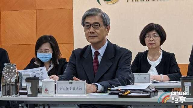 黃天牧將採三方向整合 感嘆台灣發展金融科技時不我予。(鉅亨網記者陳蕙綾攝)