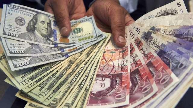 〈紐約匯市〉美國多州疫情惡化 美元走強 英鎊跌至一個月低點(圖片:AFP)
