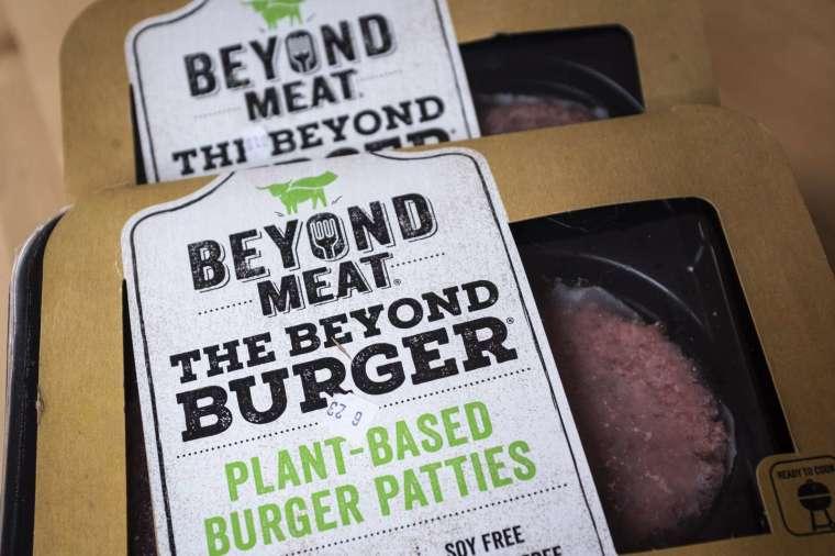 Beyond Meat (圖:AFP)